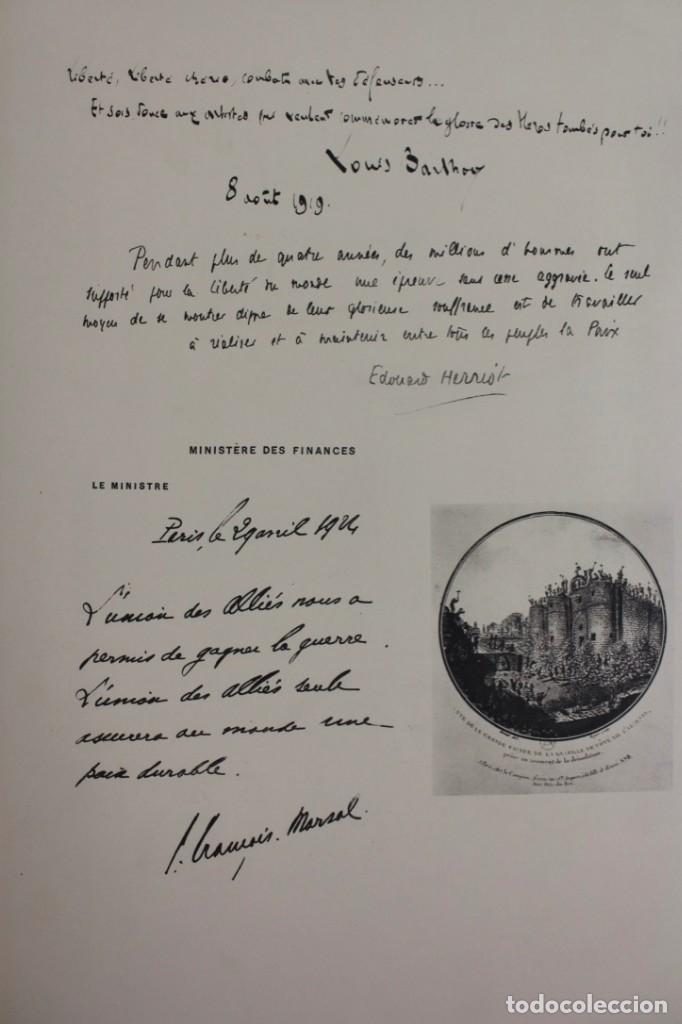 Libros antiguos: *L-5250 MEMORIAL DES ALLIES, EJEMPLAR M.JOSE MOUSCH AGENT CONSULAIRE DE FRANCE, FACSIMIL 1315. - Foto 20 - 150087598