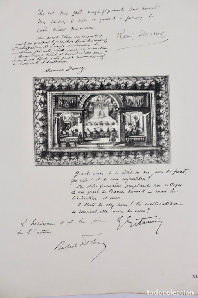 Libros antiguos: *L-5250 MEMORIAL DES ALLIES, EJEMPLAR M.JOSE MOUSCH AGENT CONSULAIRE DE FRANCE, FACSIMIL 1315. - Foto 22 - 150087598