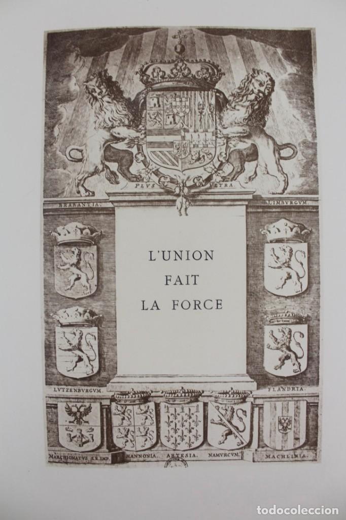 Libros antiguos: *L-5250 MEMORIAL DES ALLIES, EJEMPLAR M.JOSE MOUSCH AGENT CONSULAIRE DE FRANCE, FACSIMIL 1315. - Foto 24 - 150087598
