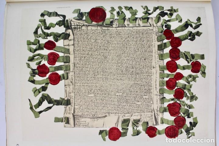 Libros antiguos: *L-5250 MEMORIAL DES ALLIES, EJEMPLAR M.JOSE MOUSCH AGENT CONSULAIRE DE FRANCE, FACSIMIL 1315. - Foto 26 - 150087598