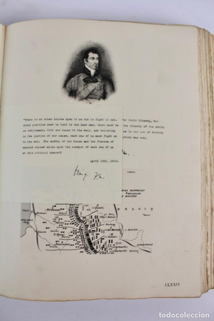 Libros antiguos: *L-5250 MEMORIAL DES ALLIES, EJEMPLAR M.JOSE MOUSCH AGENT CONSULAIRE DE FRANCE, FACSIMIL 1315. - Foto 29 - 150087598