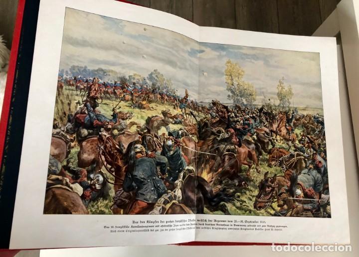 Libros antiguos: Illustrierte Gescgichte des welktirieges 1914-17 libro ilustrado alemán en 3 vols primera edición. - Foto 2 - 151701754