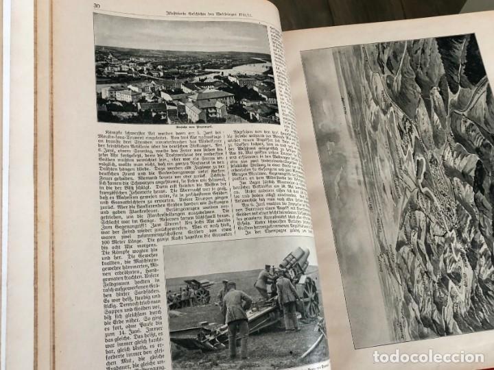 Libros antiguos: Illustrierte Gescgichte des welktirieges 1914-17 libro ilustrado alemán en 3 vols primera edición. - Foto 3 - 151701754