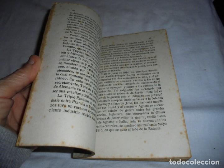 Libros antiguos: LAS TROPAS ALEMANAS EN BELGICA IMPRESIONES DE UN COMBATIENTE.JORGE BODY DE THIERRY.1917 - Foto 7 - 161014452
