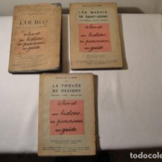 Libros antiguos: TRES TOMOS: LAS BATALLAS DE LA MARNE. 1ª GUERRA MUNDIAL 1914-1918.EDITADOS EN 1917 Y 1918.ORIGINALES. Lote 156323542