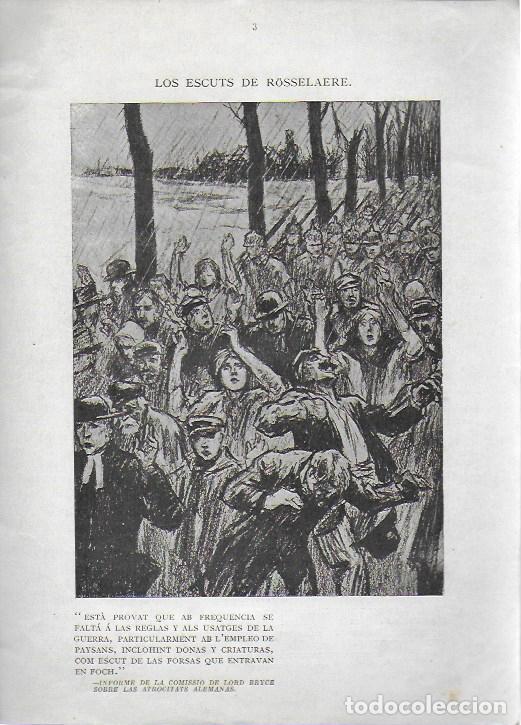 Libros antiguos: Cartrons de Raemaekers. Famós artista holandés. Londres : National Press, 1916. 25x18 cm. 29 p. - Foto 2 - 162495666