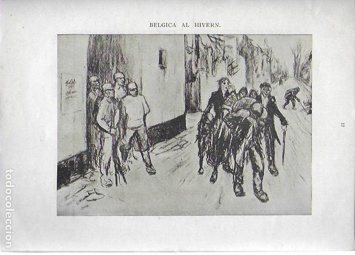 Libros antiguos: Cartrons de Raemaekers. Famós artista holandés. Londres : National Press, 1916. 25x18 cm. 29 p. - Foto 3 - 162495666
