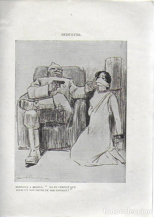 Libros antiguos: Cartrons de Raemaekers. Famós artista holandés. Londres : National Press, 1916. 25x18 cm. 29 p. - Foto 5 - 162495666