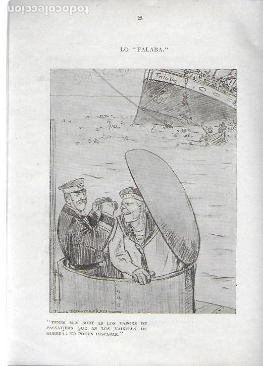 Libros antiguos: Cartrons de Raemaekers. Famós artista holandés. Londres : National Press, 1916. 25x18 cm. 29 p. - Foto 6 - 162495666