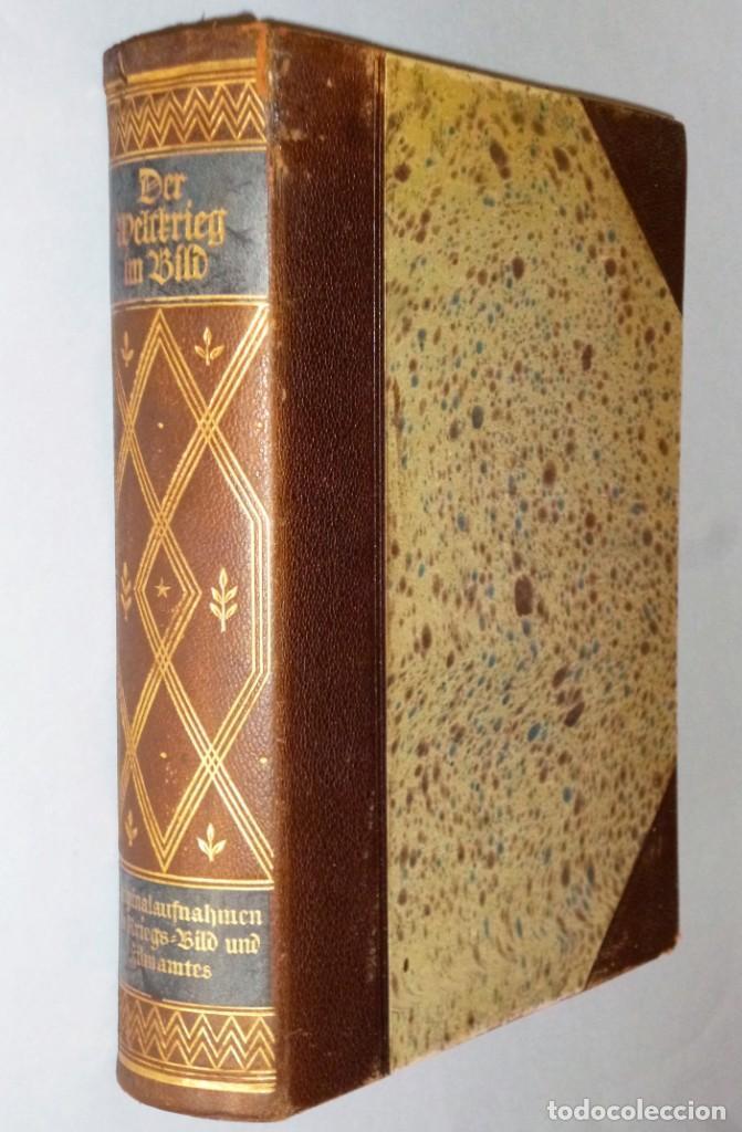 DER WELTKRIEG IM BILD (Libros antiguos (hasta 1936), raros y curiosos - Historia - Primera Guerra Mundial)