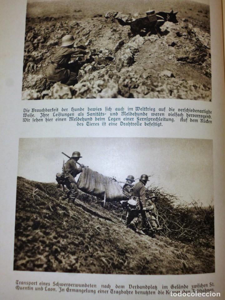 Libros antiguos: DER WELTKRIEG IM BILD - Foto 6 - 162526230