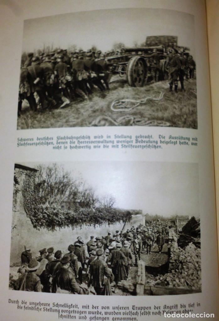 Libros antiguos: DER WELTKRIEG IM BILD - Foto 8 - 162526230