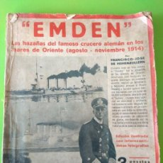 Libros antiguos: EMDEN - FCO. JOSÉ DE HOHENZOLLERN - PRIMERA EDICIÓN 1932. Lote 165166290
