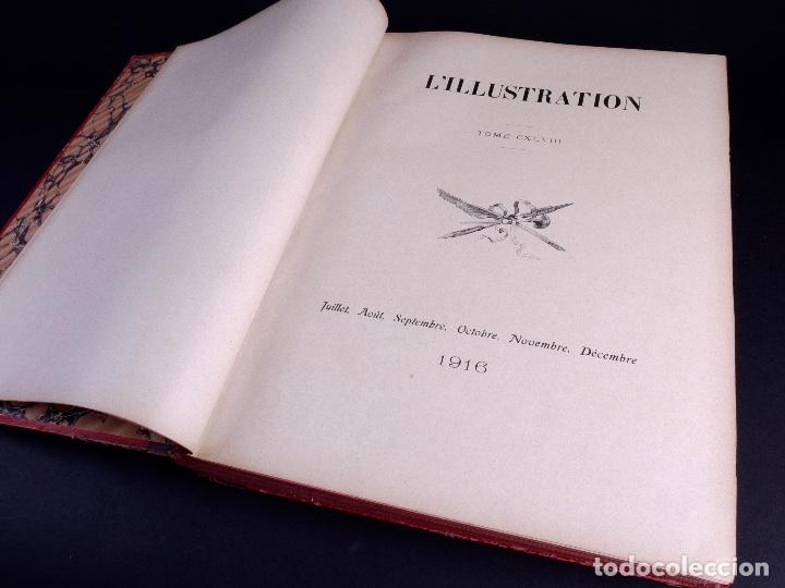 Libros antiguos: LILLUSTRATION. TOMO 148. PARIS 1916 - Foto 4 - 169206680