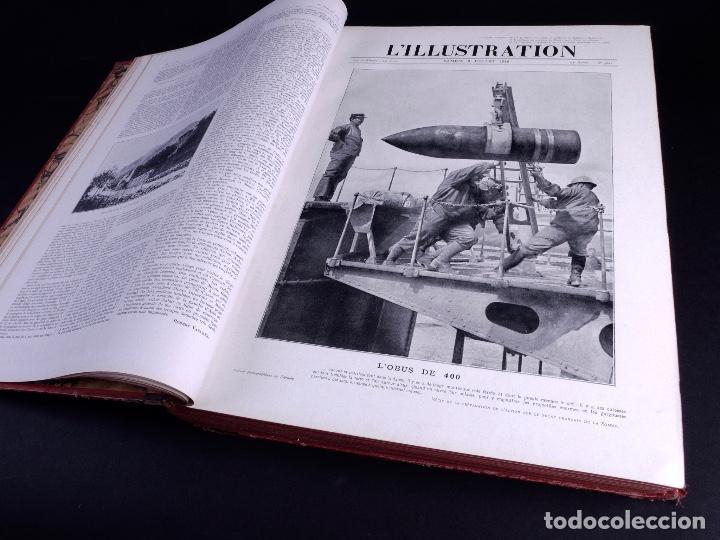 Libros antiguos: LILLUSTRATION. TOMO 148. PARIS 1916 - Foto 8 - 169206680