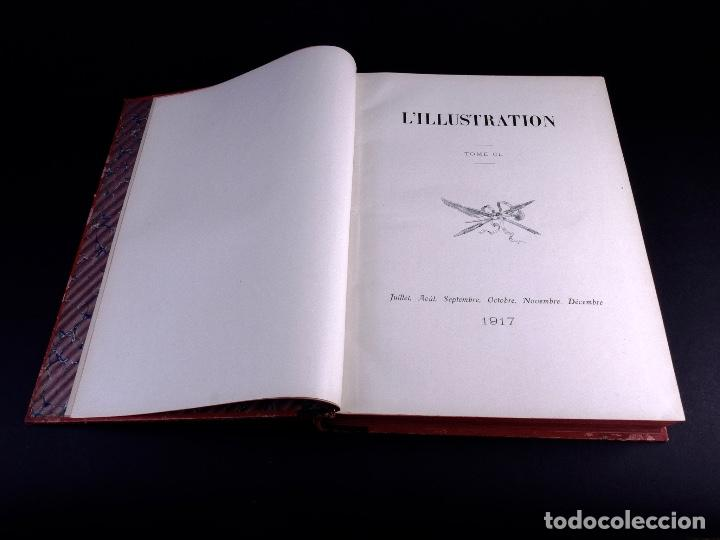 Libros antiguos: LILLUSTRATION. TOMO 150. PARIS 1917 - Foto 4 - 169207440
