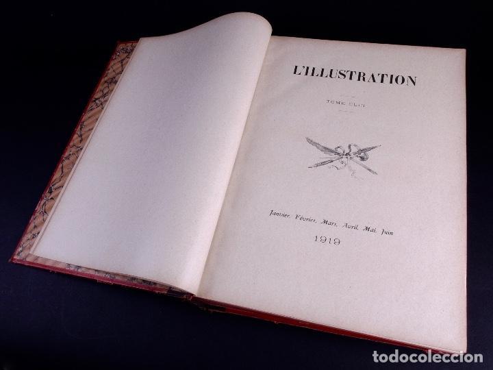 Libros antiguos: LILLUSTRATION. TOMO 153. PARIS 1919 - Foto 4 - 169209548