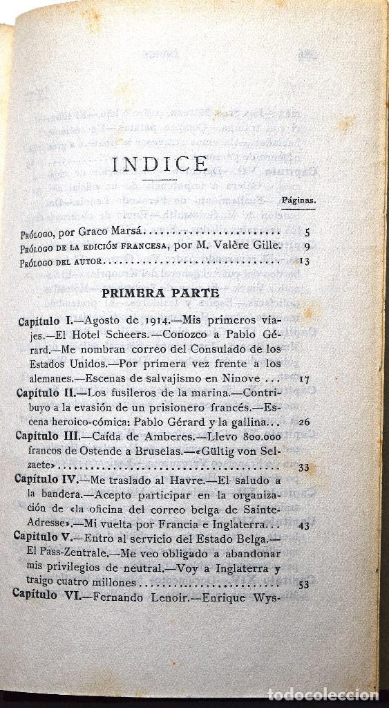Libros antiguos: POR QUÉ ME CONDENARON A MUERTE, MEMORIAS 1914 - 1918 - JAIME MIR - EDITORIAL ZEUS 1930 - Foto 4 - 170542940