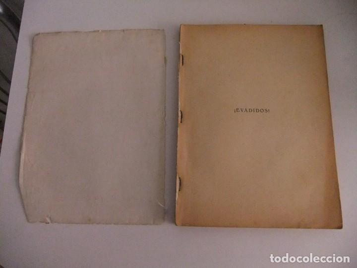 Libros antiguos: ¡evadidos! del teniente coronel reboul - Foto 3 - 173800185