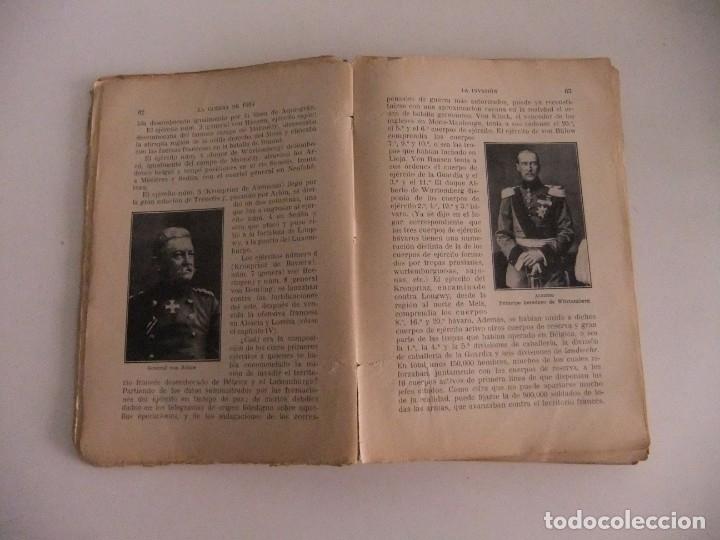 Libros antiguos: la guerra de 1914,la invasion. - Foto 3 - 173800810