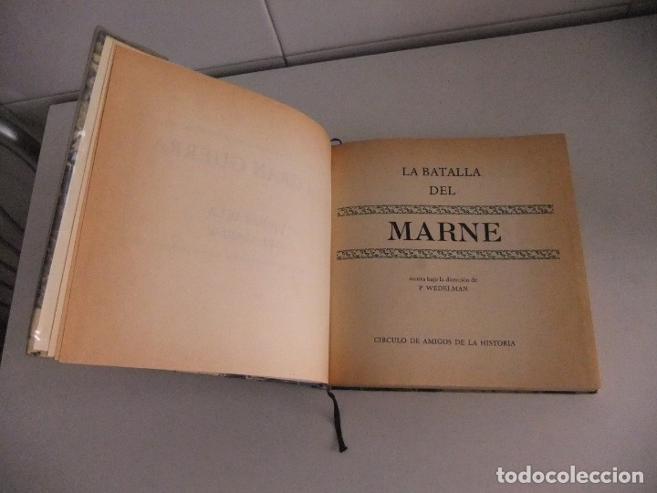 Libros antiguos: la gran guerra,la batalla del marne - Foto 2 - 173801309