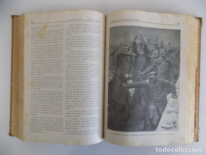 Libros antiguos: LIBRERIA GHOTICA. CAPITAN H. DUNKLEY GOLSWORTHY.EUROPA 1914-1918.CRONICA DE LA TRAGEDIA.ILUSTRADO - Foto 3 - 181098061