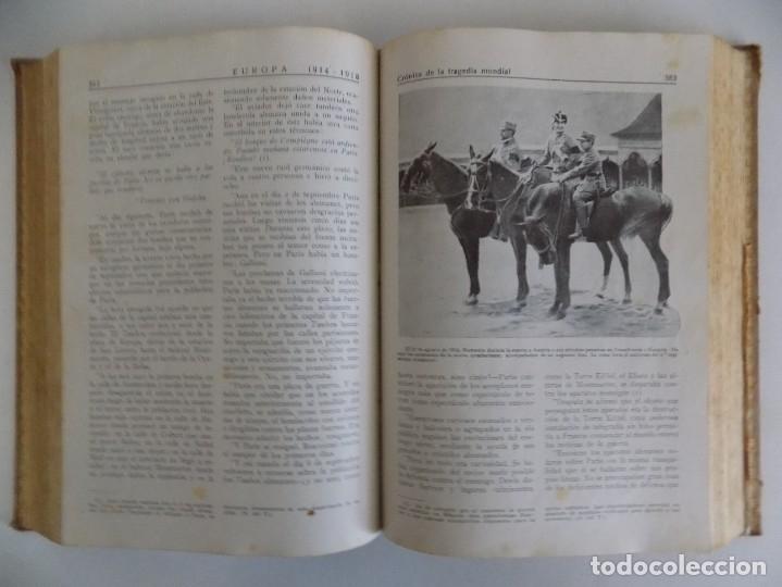Libros antiguos: LIBRERIA GHOTICA. CAPITAN H. DUNKLEY GOLSWORTHY.EUROPA 1914-1918.CRONICA DE LA TRAGEDIA.ILUSTRADO - Foto 4 - 181098061
