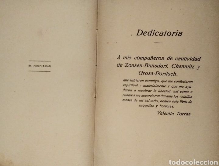 Libros antiguos: UN ESPAÑOL PRISIONERO DE LOS ALEMANES - Foto 3 - 183443923