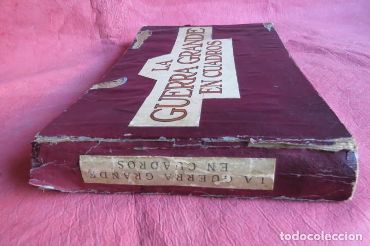 Libros antiguos: 9 numeros LA GUERRA GRANDE EN CUADROS 1915. Deutscher ubersesrrdienst BERLIN - Foto 2 - 185911990