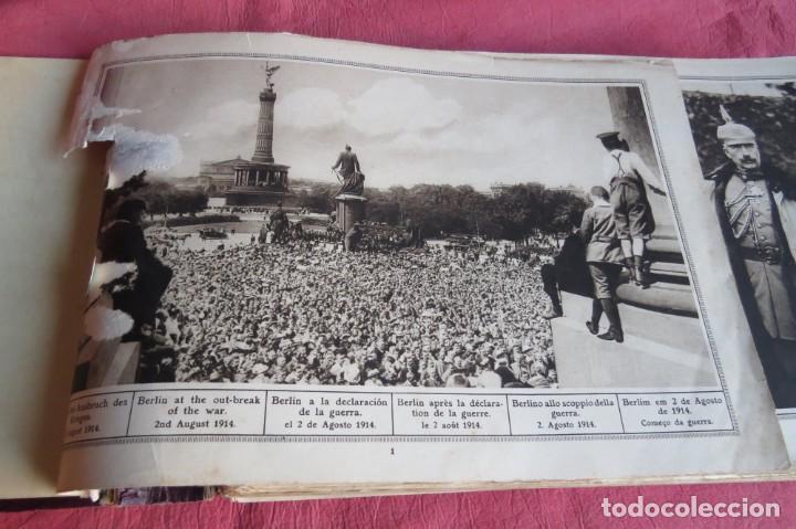Libros antiguos: 9 numeros LA GUERRA GRANDE EN CUADROS 1915. Deutscher ubersesrrdienst BERLIN - Foto 6 - 185911990