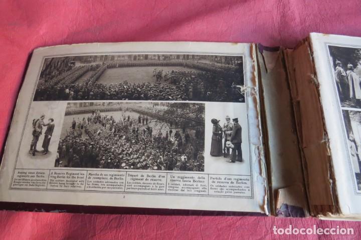 Libros antiguos: 9 numeros LA GUERRA GRANDE EN CUADROS 1915. Deutscher ubersesrrdienst BERLIN - Foto 7 - 185911990
