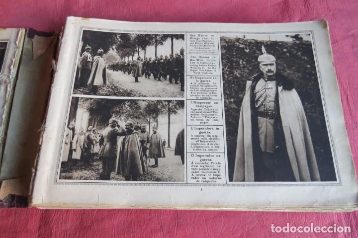 Libros antiguos: 9 numeros LA GUERRA GRANDE EN CUADROS 1915. Deutscher ubersesrrdienst BERLIN - Foto 8 - 185911990
