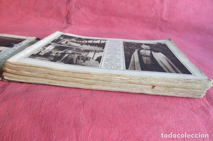 Libros antiguos: 9 numeros LA GUERRA GRANDE EN CUADROS 1915. Deutscher ubersesrrdienst BERLIN - Foto 9 - 185911990