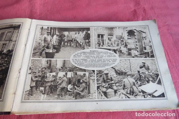 Libros antiguos: 9 numeros LA GUERRA GRANDE EN CUADROS 1915. Deutscher ubersesrrdienst BERLIN - Foto 10 - 185911990