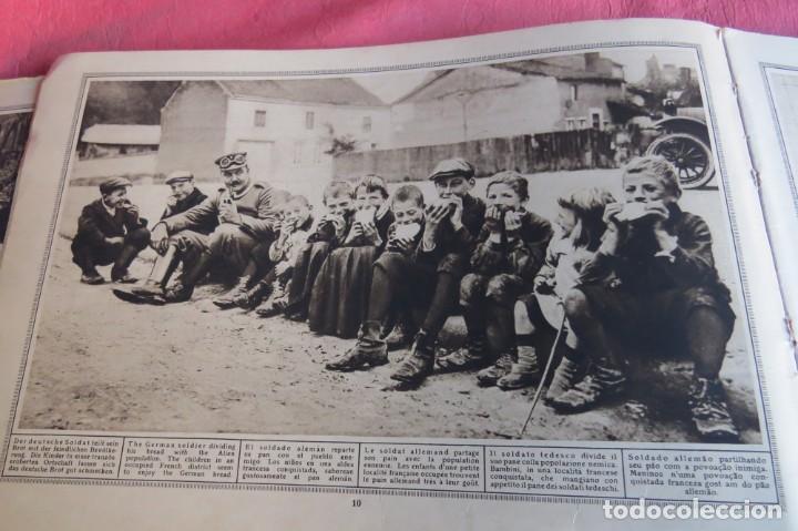 Libros antiguos: 9 numeros LA GUERRA GRANDE EN CUADROS 1915. Deutscher ubersesrrdienst BERLIN - Foto 11 - 185911990