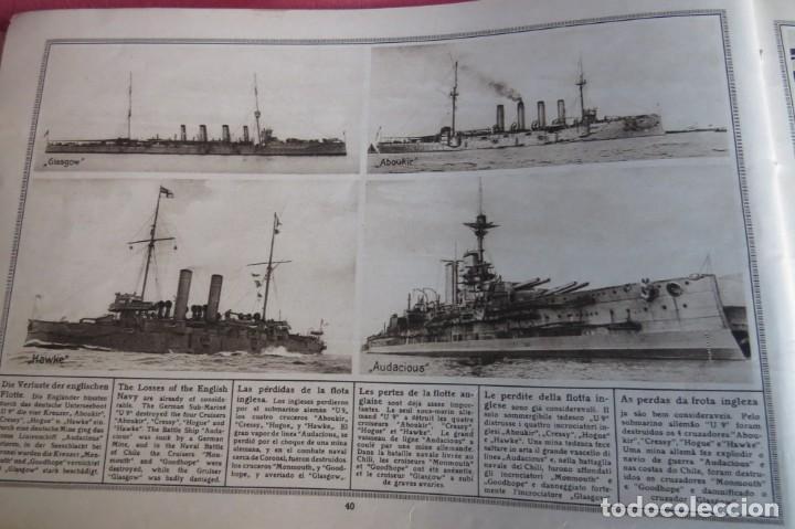 Libros antiguos: 9 numeros LA GUERRA GRANDE EN CUADROS 1915. Deutscher ubersesrrdienst BERLIN - Foto 15 - 185911990
