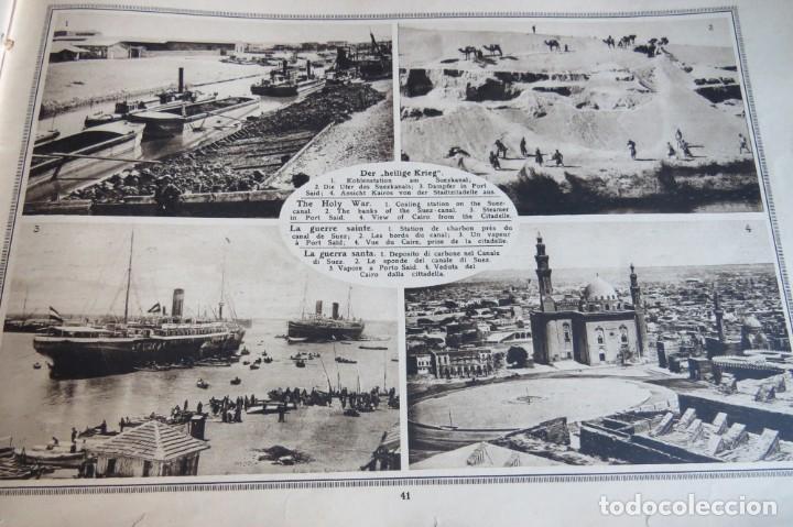 Libros antiguos: 9 numeros LA GUERRA GRANDE EN CUADROS 1915. Deutscher ubersesrrdienst BERLIN - Foto 16 - 185911990