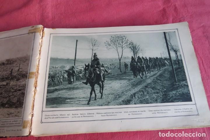 Libros antiguos: 9 numeros LA GUERRA GRANDE EN CUADROS 1915. Deutscher ubersesrrdienst BERLIN - Foto 17 - 185911990