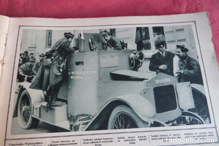 Libros antiguos: 9 numeros LA GUERRA GRANDE EN CUADROS 1915. Deutscher ubersesrrdienst BERLIN - Foto 19 - 185911990