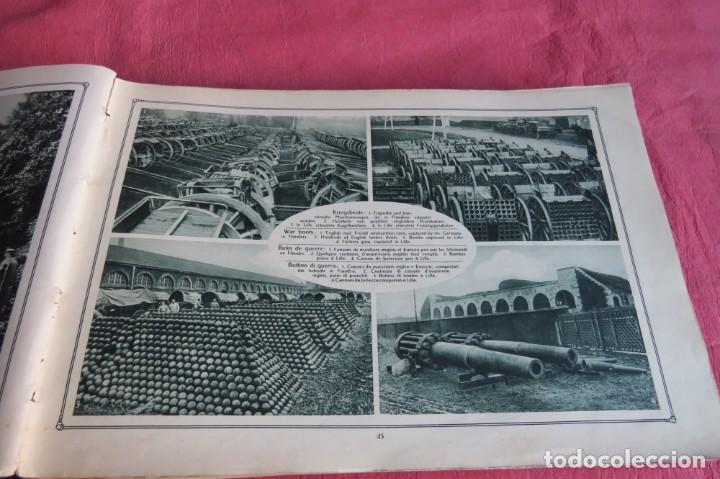 Libros antiguos: 9 numeros LA GUERRA GRANDE EN CUADROS 1915. Deutscher ubersesrrdienst BERLIN - Foto 21 - 185911990