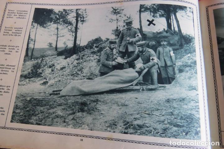 Libros antiguos: 9 numeros LA GUERRA GRANDE EN CUADROS 1915. Deutscher ubersesrrdienst BERLIN - Foto 24 - 185911990