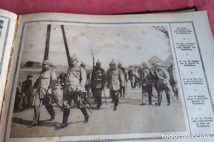 Libros antiguos: 9 numeros LA GUERRA GRANDE EN CUADROS 1915. Deutscher ubersesrrdienst BERLIN - Foto 26 - 185911990