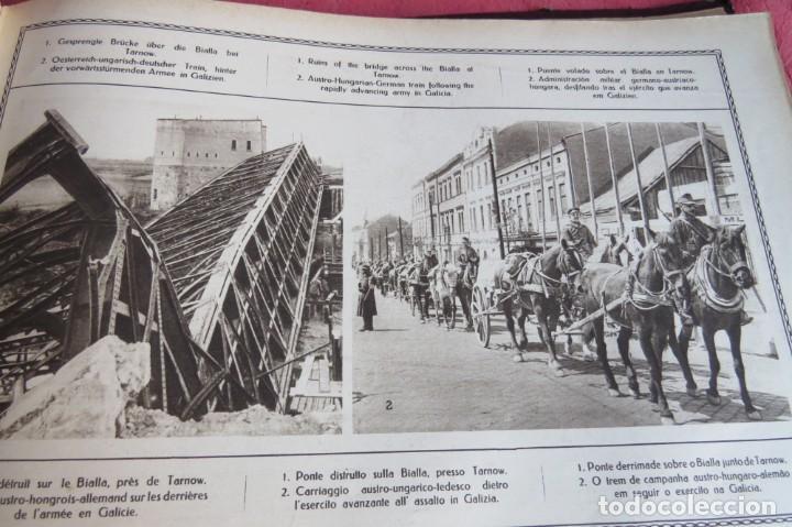 Libros antiguos: 9 numeros LA GUERRA GRANDE EN CUADROS 1915. Deutscher ubersesrrdienst BERLIN - Foto 28 - 185911990