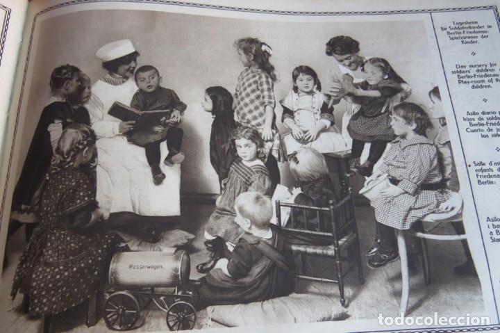 Libros antiguos: 9 numeros LA GUERRA GRANDE EN CUADROS 1915. Deutscher ubersesrrdienst BERLIN - Foto 30 - 185911990
