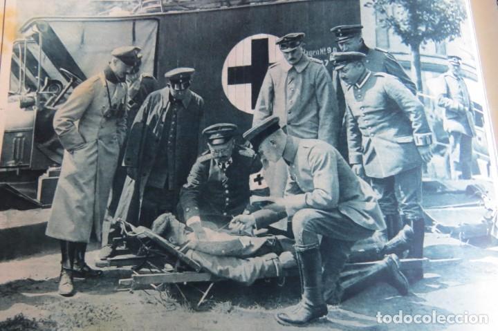Libros antiguos: 9 numeros LA GUERRA GRANDE EN CUADROS 1915. Deutscher ubersesrrdienst BERLIN - Foto 33 - 185911990