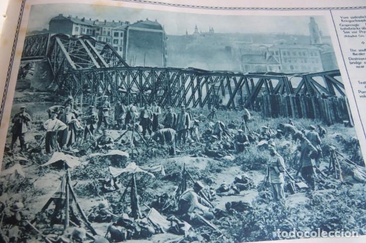 Libros antiguos: 9 numeros LA GUERRA GRANDE EN CUADROS 1915. Deutscher ubersesrrdienst BERLIN - Foto 34 - 185911990
