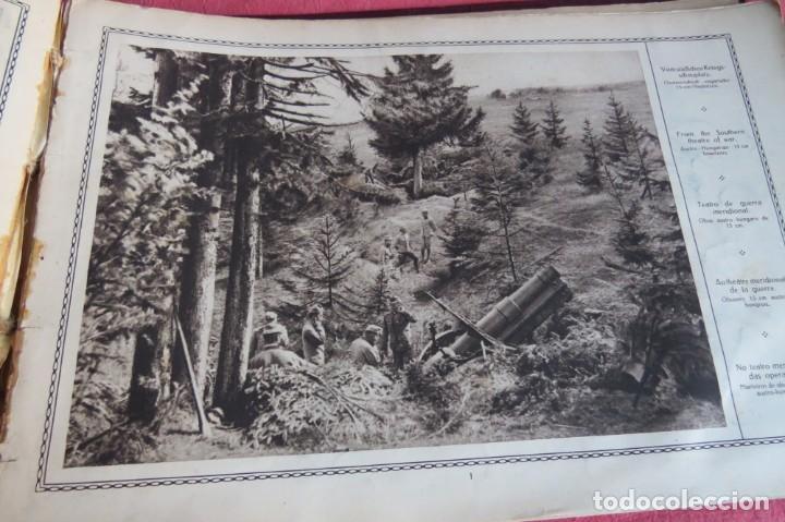 Libros antiguos: 9 numeros LA GUERRA GRANDE EN CUADROS 1915. Deutscher ubersesrrdienst BERLIN - Foto 36 - 185911990