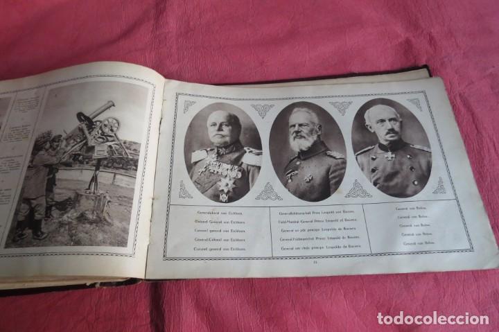 Libros antiguos: 9 numeros LA GUERRA GRANDE EN CUADROS 1915. Deutscher ubersesrrdienst BERLIN - Foto 37 - 185911990