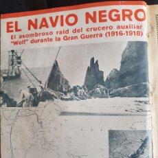 Libros antiguos: EL NAVIO NEGRO - F.WITSCHETZKY -LOS TITANES DE LA MAR - MATEO MILLE - 3 LIBROS DE 1930 ENCUADERNADOS. Lote 193289397