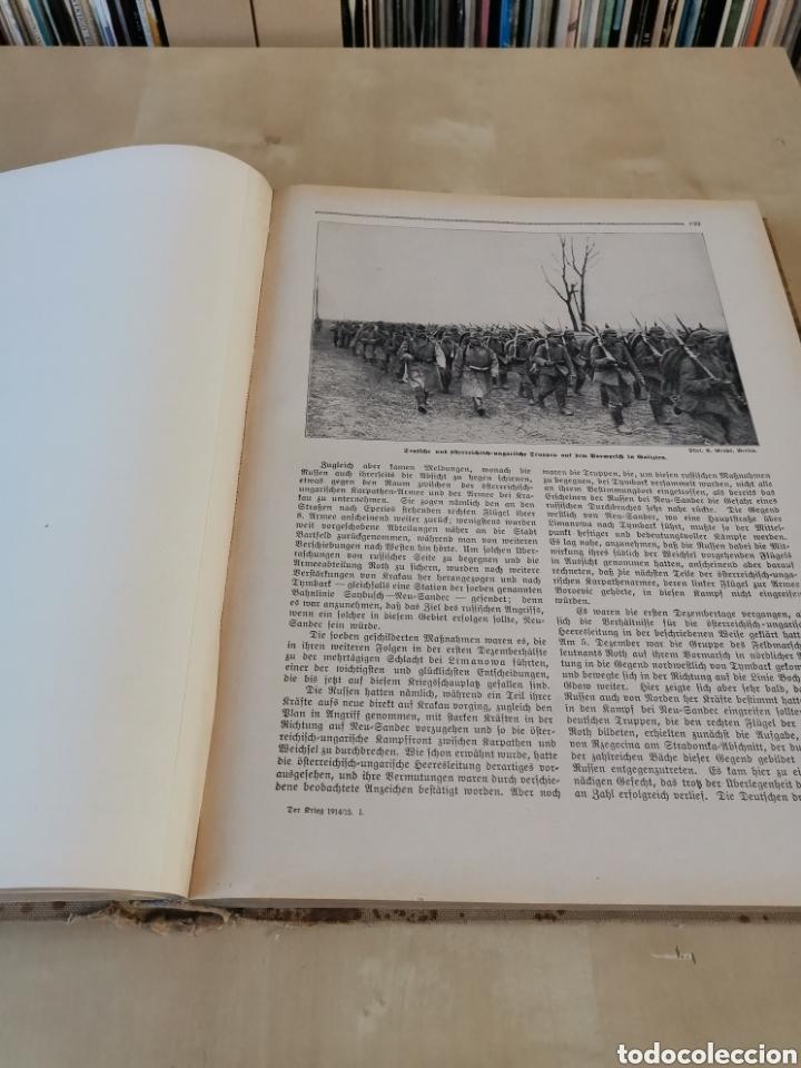 Libros antiguos: DER KRIEG 1914 COMPLETO 3 TOMOS I GUERRA MUNDIAL - Foto 3 - 196291196